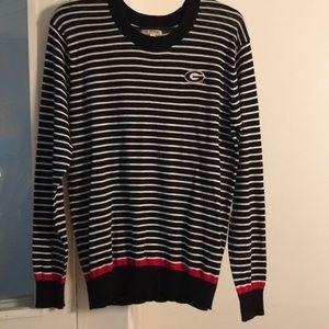 Georgia Bulldogs GA Apparel women's sweater size L